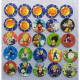 100 Tazos Dragon Ball Z Xferas 2018 Coleccion Completa