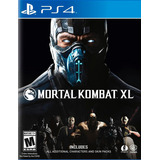 Mortal Kombat Xl Ps4 Nuevo Original Domicilio - Jxr