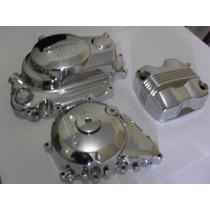 Jogo De Tampa Motor 150/125 Cromadas