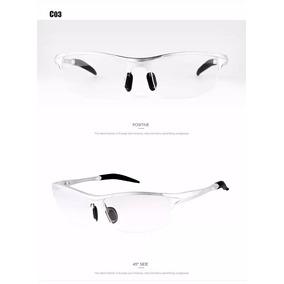 Armação Óculos De Grau Masculina Esportiva Curvada No Rosto