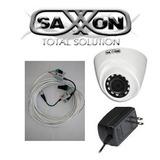 Domo Camara Hdcvi Saxxon 720p Cable Fuente 4en1 Interior 30m