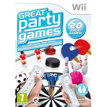 Jogo Great Party Games [pal] - Nintendo Wii - Seminovo