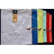 Camiseta Camisas Gola V Masculinas Varias Marca Kit 10 Peças