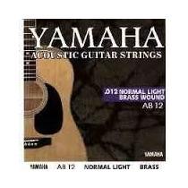 Juego De Cuerdas Yamaha Acustica Ab 12 012 Importadas