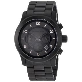 Reloj Michael Kors Acero Cronógrafo Negro