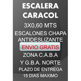 Escalera Caracol C/envio Gratis Zona Norte Y Capital