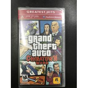 Gta Grand Theft Auto Chinatown Warspsp Psp Playstation