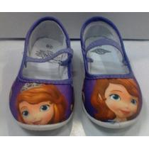 Zapatos Proncesa Sofía Tipo Zapatillas Espectaculares
