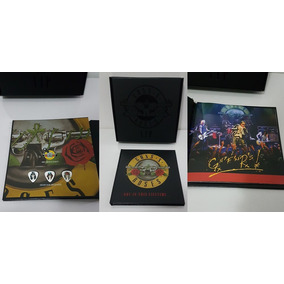 Guns N Roses Álbum Vip+ Cartola Slash Funko +moleton+revista