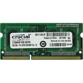 Crucial Ddr3 2gb - 12800 Laptop Barata