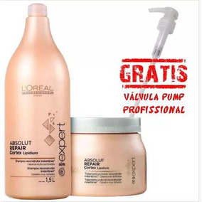 Kit Absolut Repair Shampoo 1500ml E Máscara 500gr