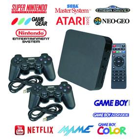 Tv Box + Emulador Video Game Retro Multijogos Jogos Antigo