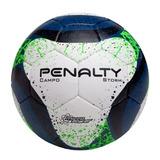 Bola Penalty Storm Vii Campo Branca E Azul