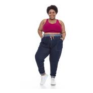 Calça Jogger Plus Size Wonder Size Denim Jeans Azul