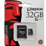 Cartão De Memória Micro Sd 32 Gb Kingston- Frete Grátis