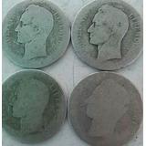 Monedas Dos Bolivares (2)1887-1888-1894