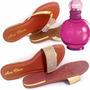 Kit Com 2 Rasteirinhas Grátis Perfume Importado
