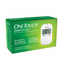 Aparelho De Glicose One Touch Select Simple + Brindes