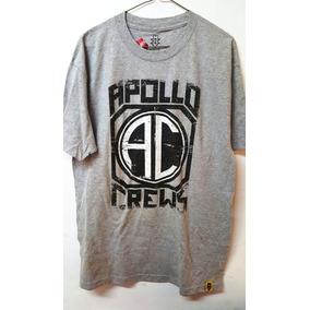 Wwe Playera Authentic Wear Apollo Crews (talla Grande)