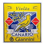 Encordoamento Giannini Canario Violão Nylon Com Bolinha