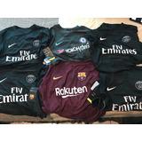 Tercer Jersey Barcelona,chelsea,psg Nike 17 Versión Jugador