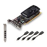 Tarjeta De Video Pny Nvidia Quadro P1000 4gb 4k Profesional