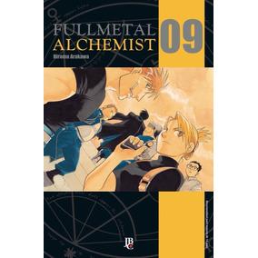 Manga Revista Fullmetal Alchemist Volume 09 Hq Frete Grátis