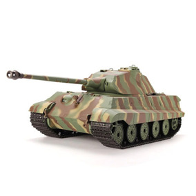 Tanque Rc Heng Long King Tiger 1/16 Humo Y Airsoft 6mm