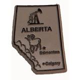 De Alberta, Canadá 2d Pvc Nevera Imán Del Recuerdo Del Colec