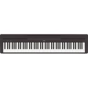 Piano Digital Yamaha Negro P45 (incluye Adaptador Pa5d)