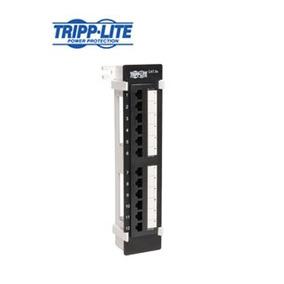 Panel Ethernet Tripp-lite N050-012, 12 Rj-45, Cat5, 568b, Pa