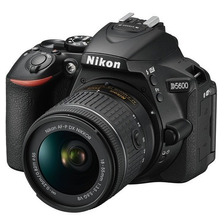 Cámara Nikon D5600 Con 18-55mm Lente