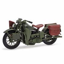 Harley Davidson Flanthead Wla 1942 Maisto 1:18 Série 26