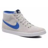 Championes Nike Eastham Mid Botas Botitas Gris Azul
