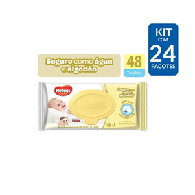 Kit Toalha Umedecida Huggies Pure Care - 1.152 Toalhas