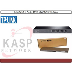Switch Tp-link De 24 Puertos 10/100 Mbps Para Rack Tl-sf1024