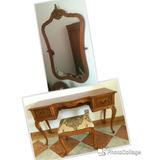 Penteadeira Chipandelle Espelho E Banqueta Antigos