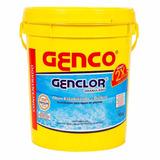 Genclor Granul. Cloro Kit Limpeza E Controle Ph S/ Juros