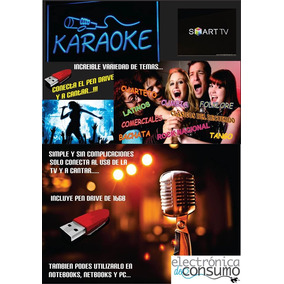 Pen Drive Karaoke -- Conectas Y A Cantar....!!!