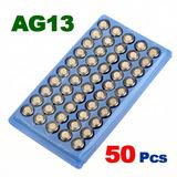 Kit Com 10 Cartelas De Baterias Lr44 Ag13 Um Total De 500 !