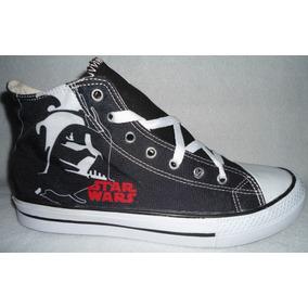 De Colección! T: 26 Tenis Star Wars Darth Vader Urbanos
