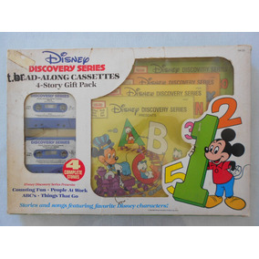 Disney Discovery Series Read-along K7 - 4 Story Gift Pack