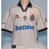 Camisa Corinthians Topper Batavo Brasileiro 1999 Rincón - 78
