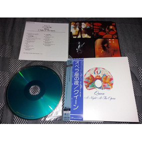 Queen A Night At The Opera Japan Mini Lp Shm Cd Japones