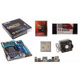 Combo Board Asus 78lmt-usb3 Am3 + Procesador Amd Fx-8320e @s