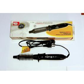 Escova Modeladora 2 Em 1 Nks Hair Maker Ts-990