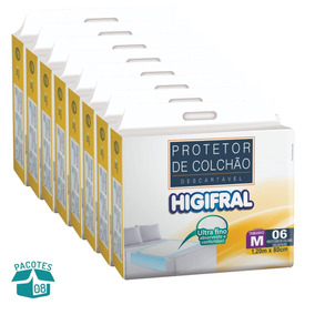 Protetor De Colchão Descartável Higifral (med) Com 48 Un.