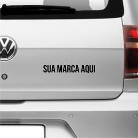 Adesivo Carro Personalizado Sua Marca Logo Empresa 5unid