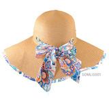 Sombrero De Playa Con Listón Para Dama De Verano