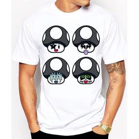 Playeras Panda Xd Super Mario Rock The Kiss Originales